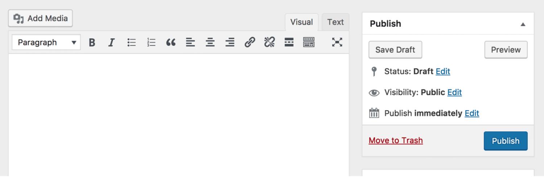 Plugin de Classic Editor