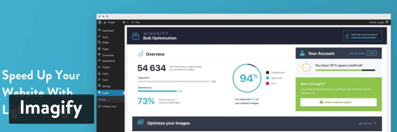 Imagify WordPress plugin