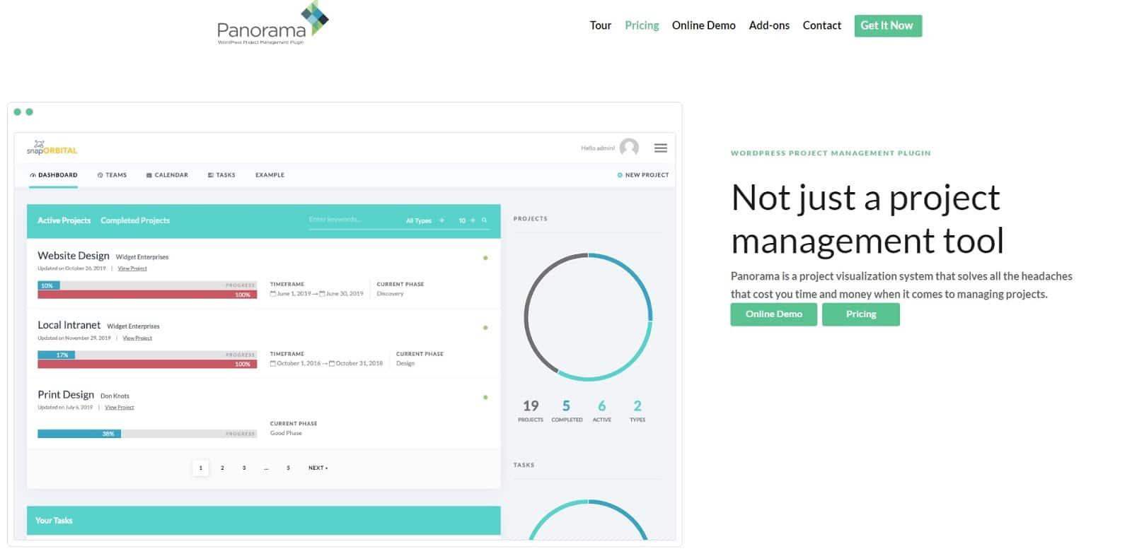 Plugin Panorama WordPress