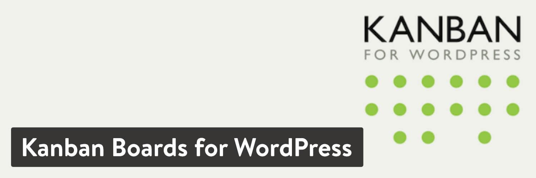 Kanban Boards for WordPress plugin