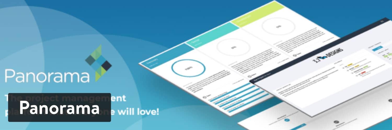 Panorama plugin - WordPress Project Management Plugins