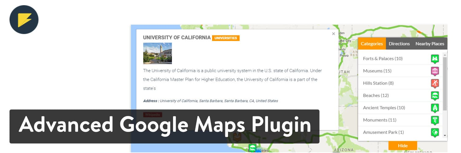 Advanced Google Maps - WordPress map plugin