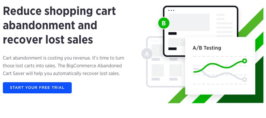 BigCommerce - Correos electrónicos de abandono del carro