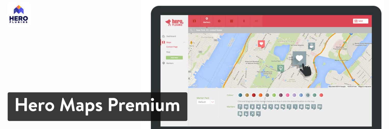 Hero Maps Premium plugin