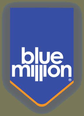 El logotipo de la empresa Blue Million