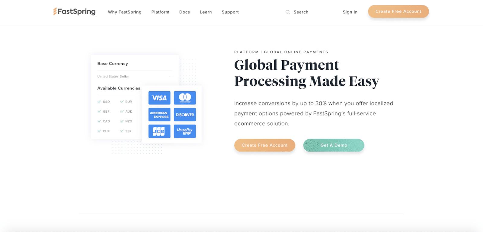 alternativa de PayPal FastSpring