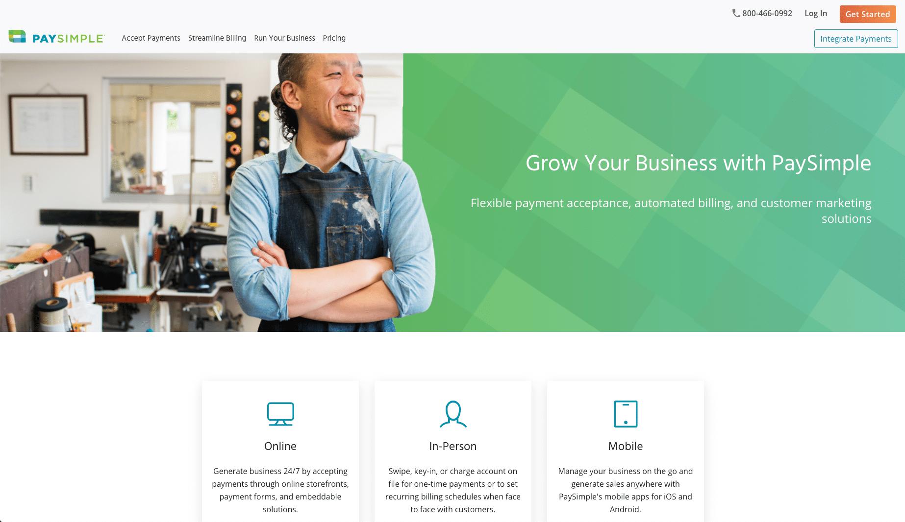PaySimple - Alternativa de PayPal