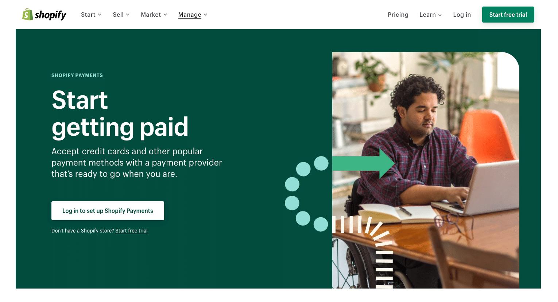 Shopify Payments - Alternativa de PayPal