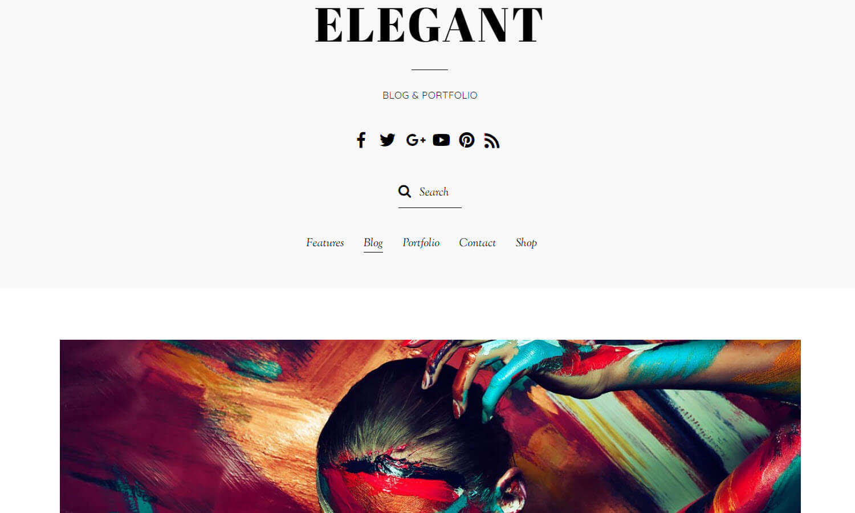 Elegant screenshot