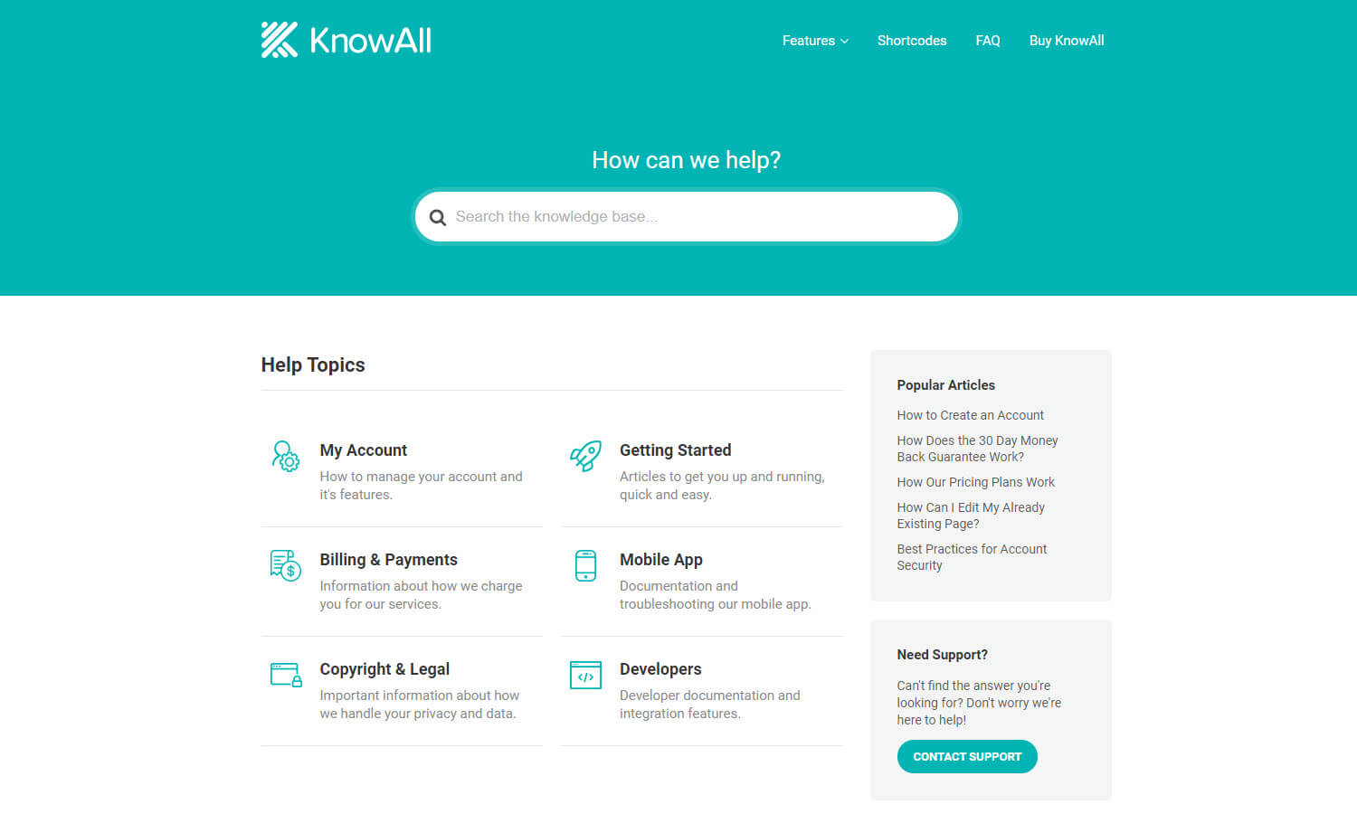 KnowAll Theme screenshot