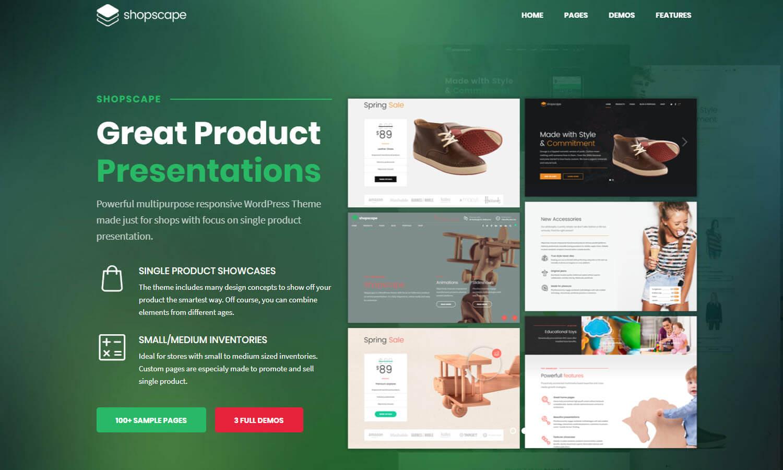 Shopscape screenshot