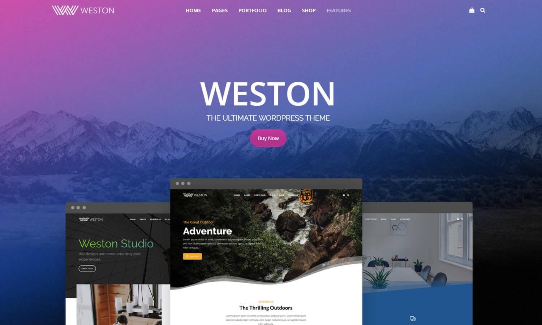 Weston screenshot
