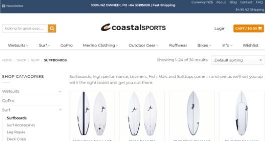 Coastal Sports