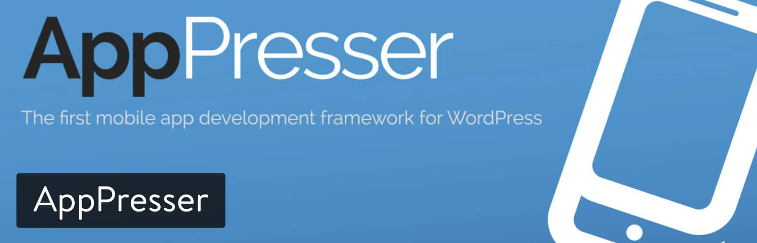 Extension WordPress mobile AppPresser