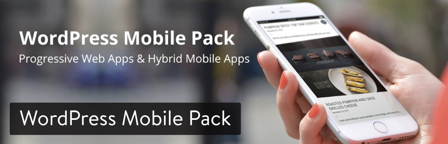 Extension WordPress Mobile Pack