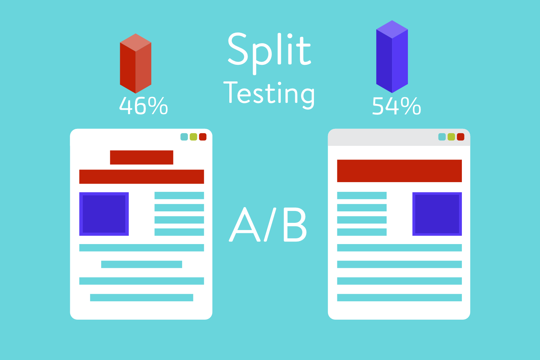 A/B testing split