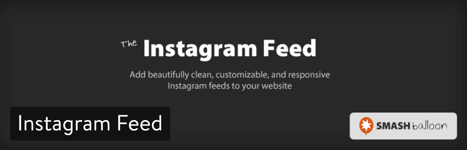 Extension Instagram Feed
