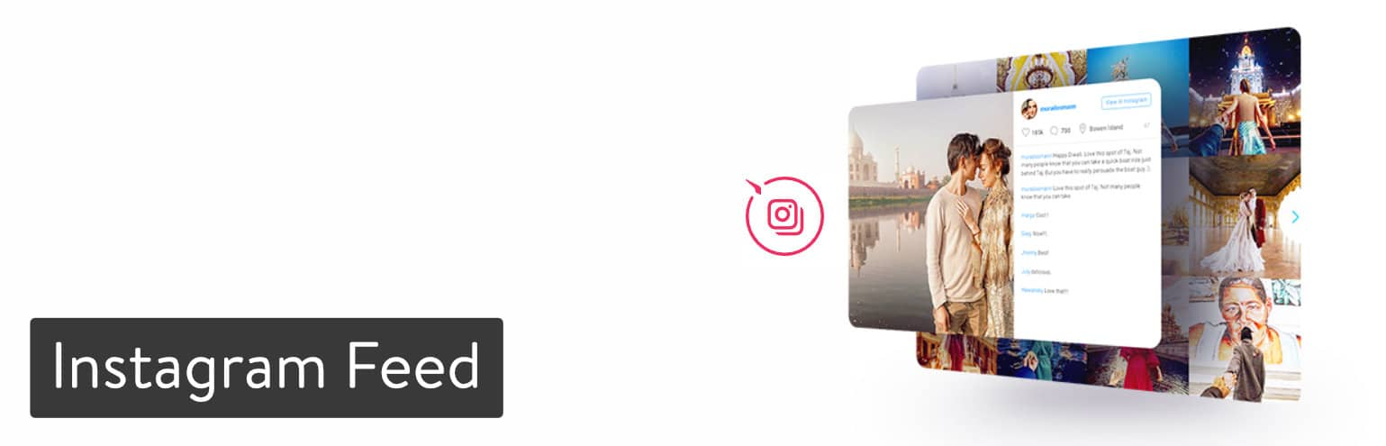 Extension WordPress Instagram Feed