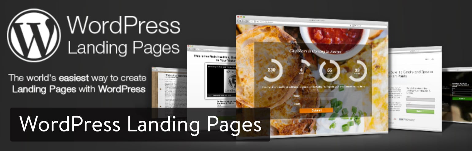 Extension WordPress Landing Pages