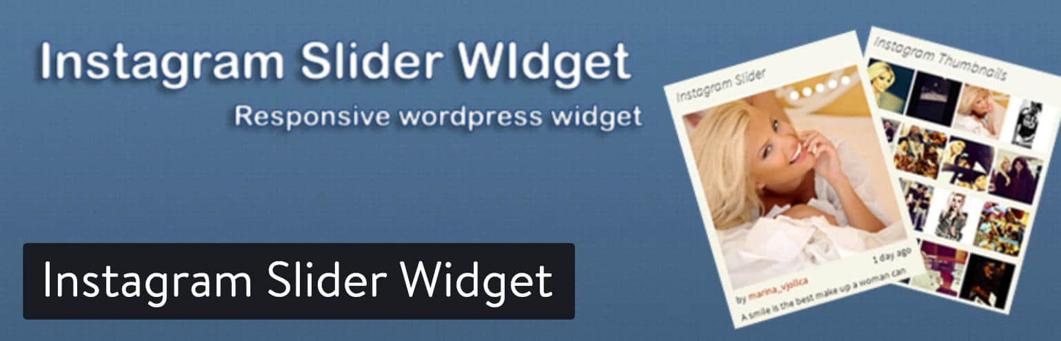 Instagram Slider Widget WordPress extension