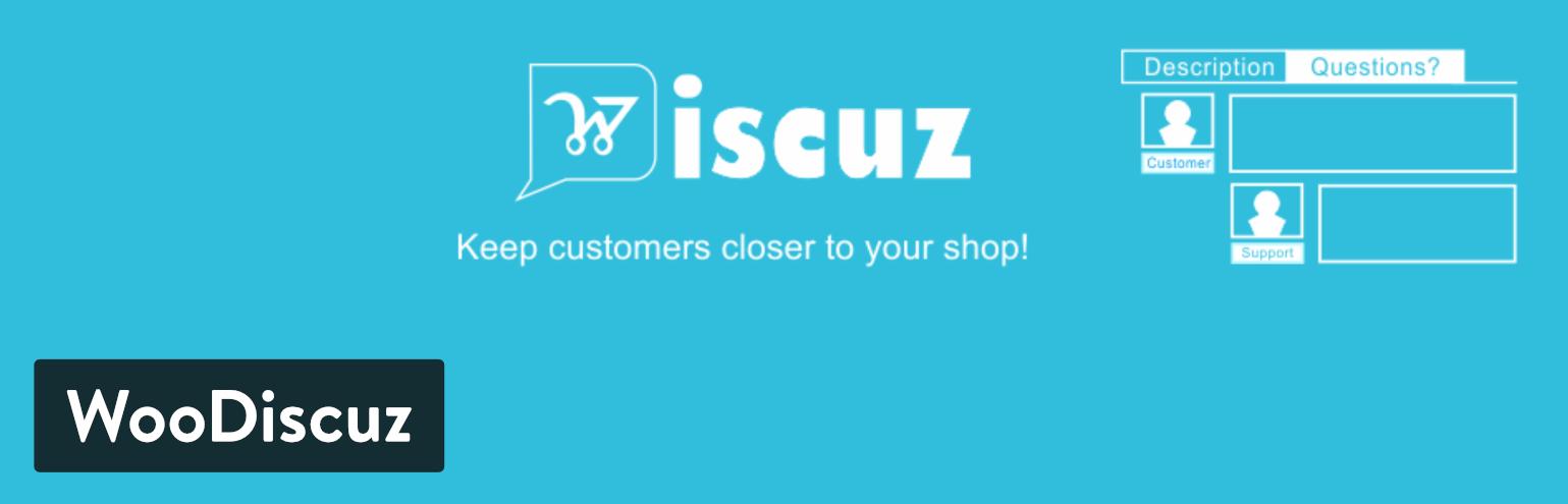 Plugin WooDiscuz WordPress