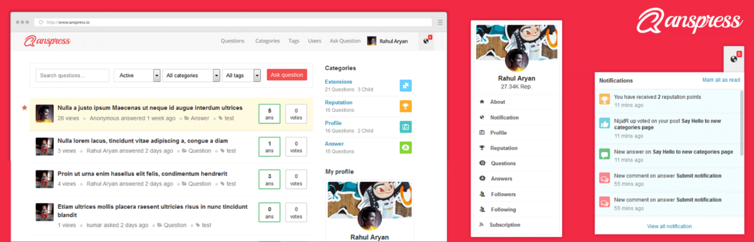 Plugin WordPress AnsPress