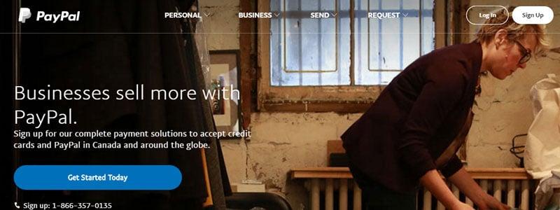 PayPal offre de nombreuses options aux entreprises.