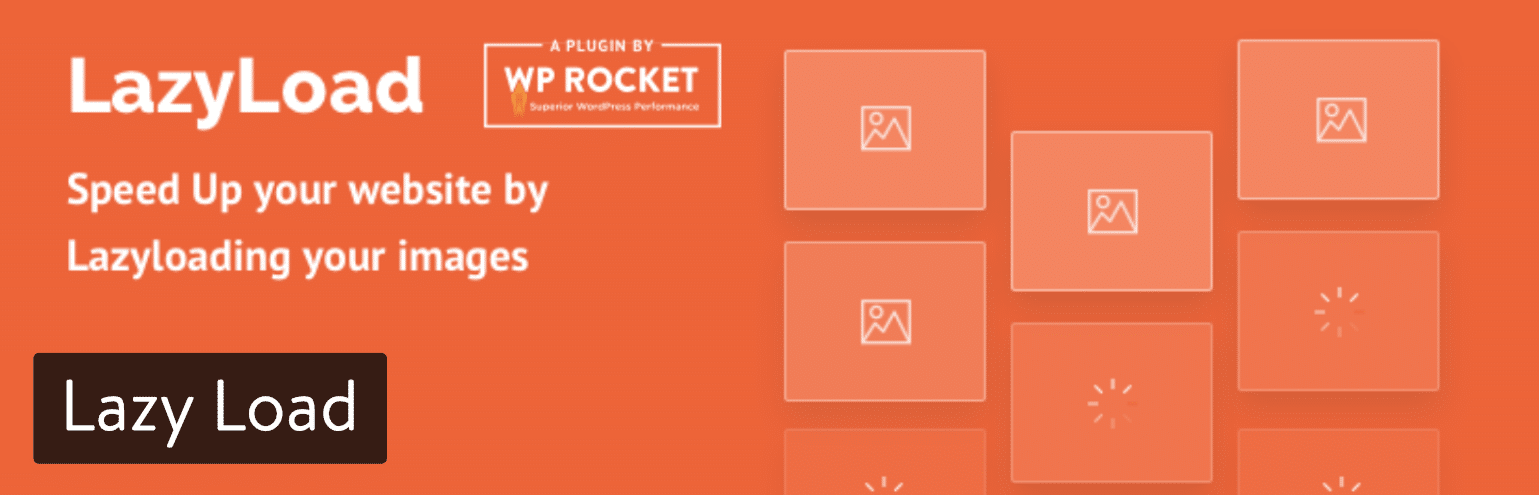 Plugin Lazy Load par WP Rocket