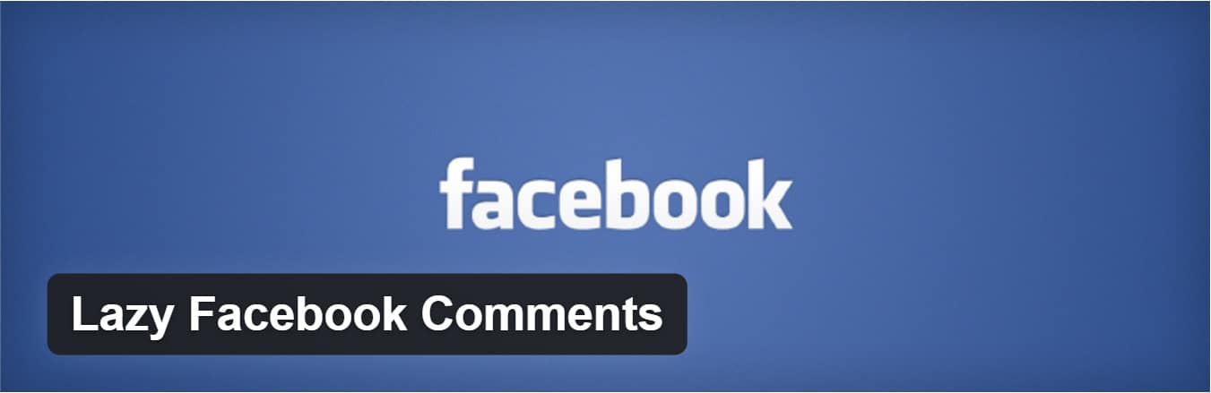 Plugin Lazy Facebook Comments