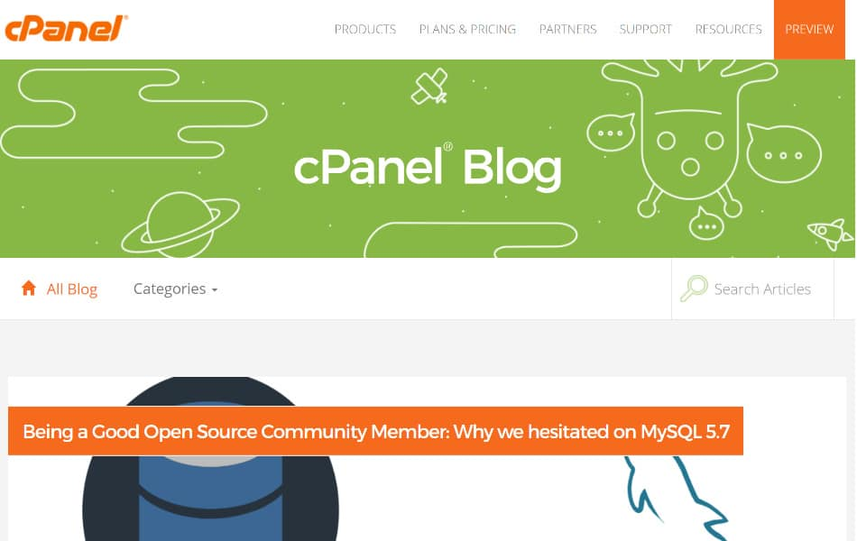 Blog de cPanel