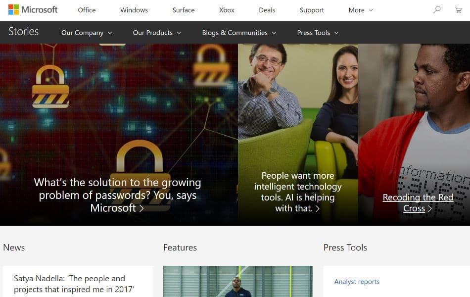Nouvelles de Microsoft