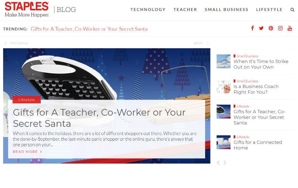 Blogue sur les agrafes