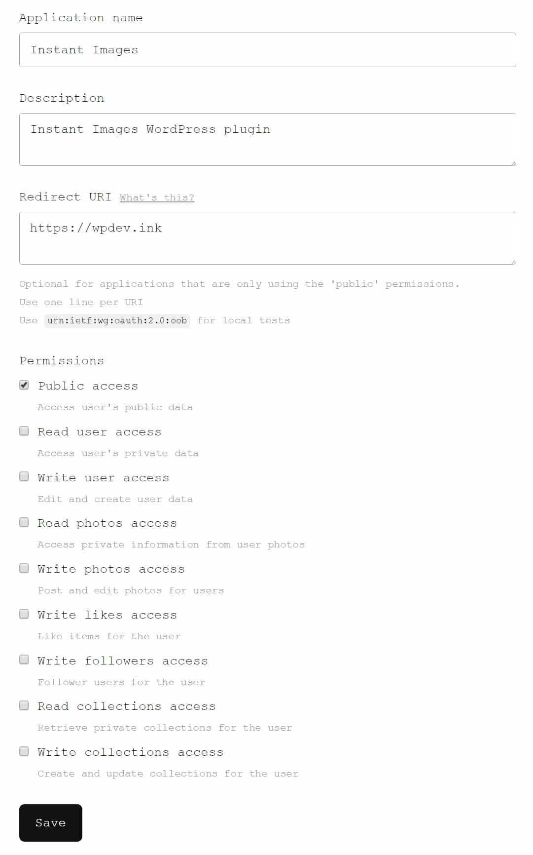 Candidature Unsplash de développeur