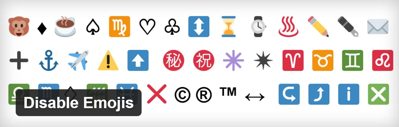 Extension Disable Emojis