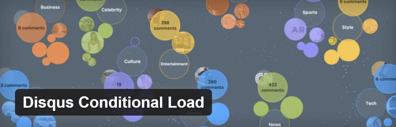 Extension Disqus conditional load