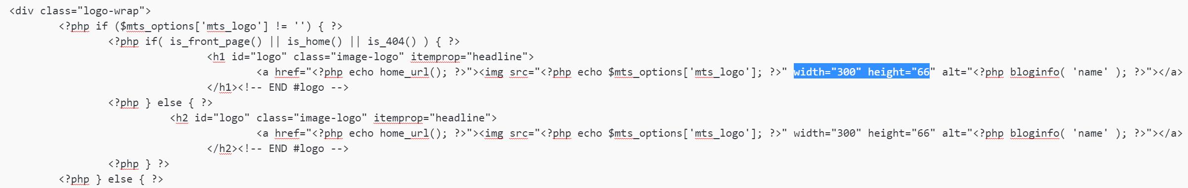 Fichier header.php modifié pour le problème de mise à l'échelle du SVG sous IE