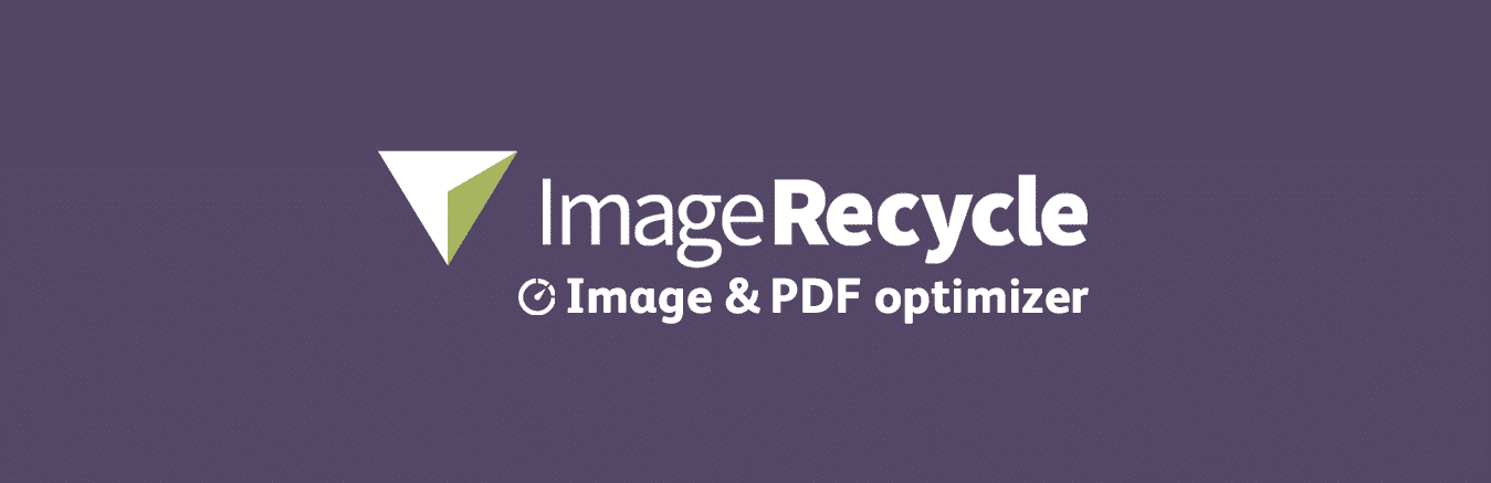 ImageRecycle - Extension d'optimisation d'images et de PDF