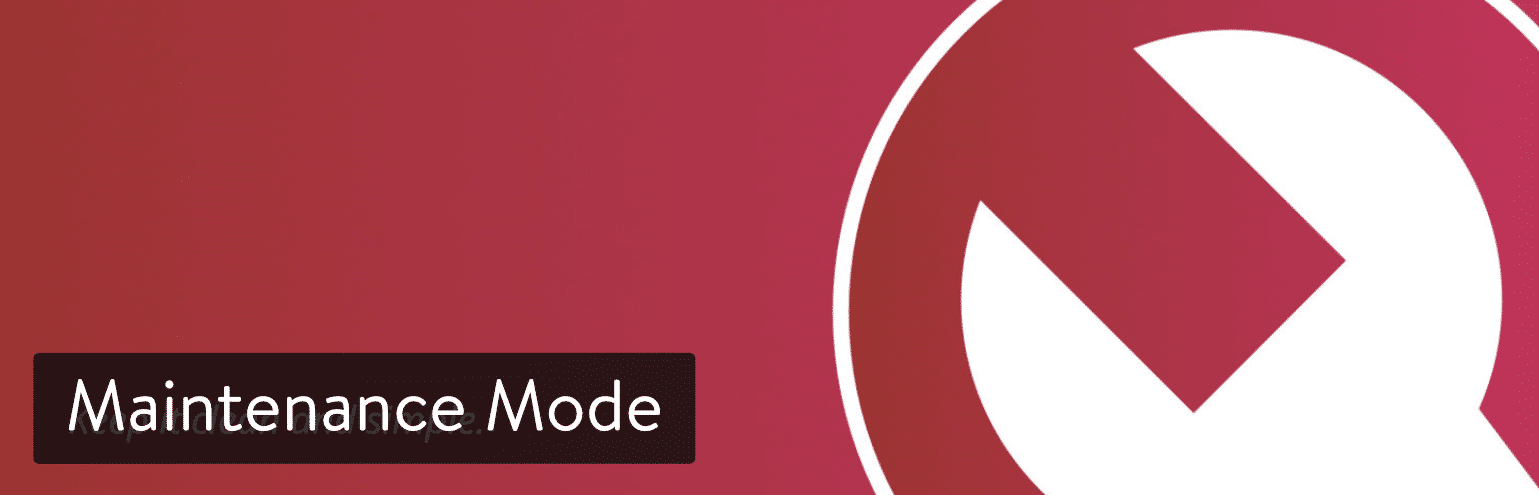 Plugin WordPress Maintenance Mode