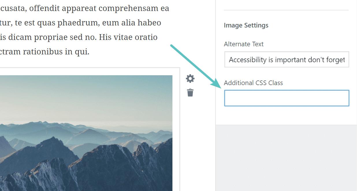 Ajouter classe CSS