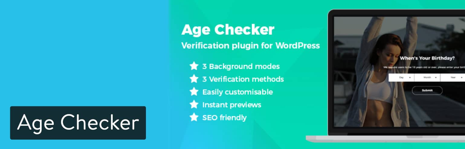 Extension WordPress Age Checker