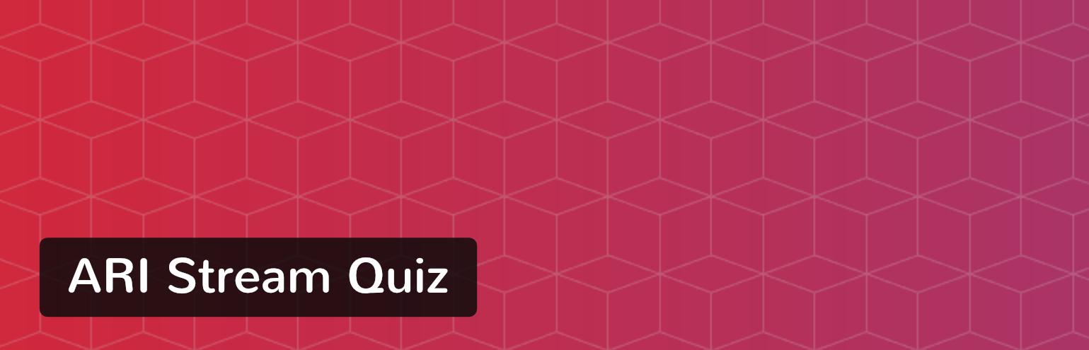 Extension WordPress Ari Stream Quiz
