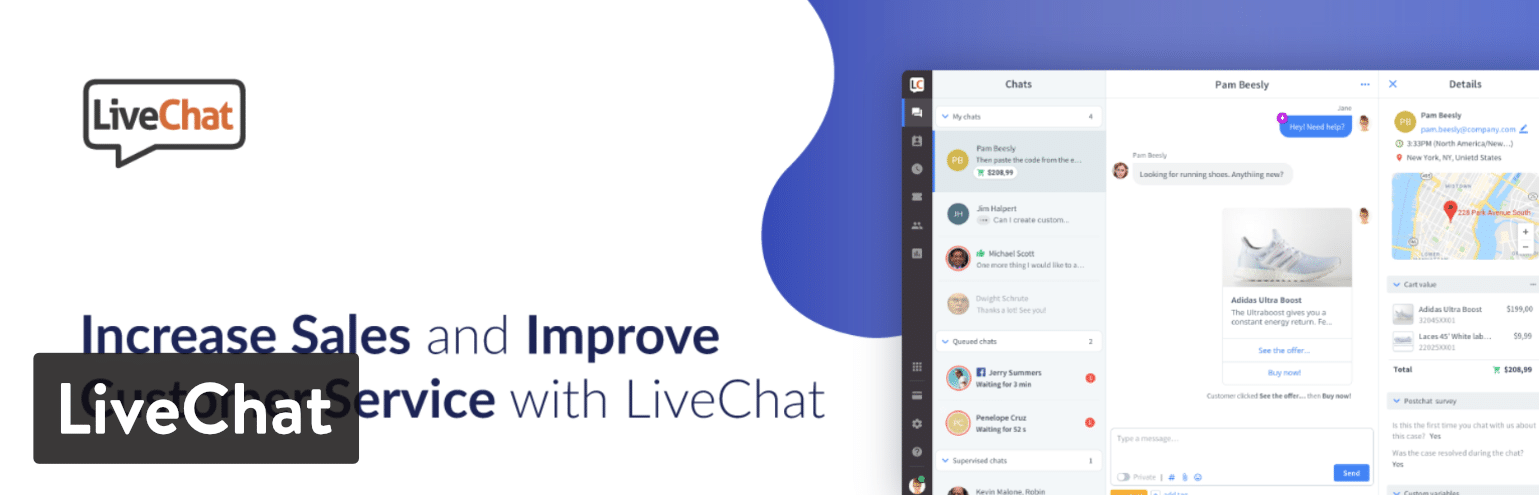 Extension WordPress LiveChat