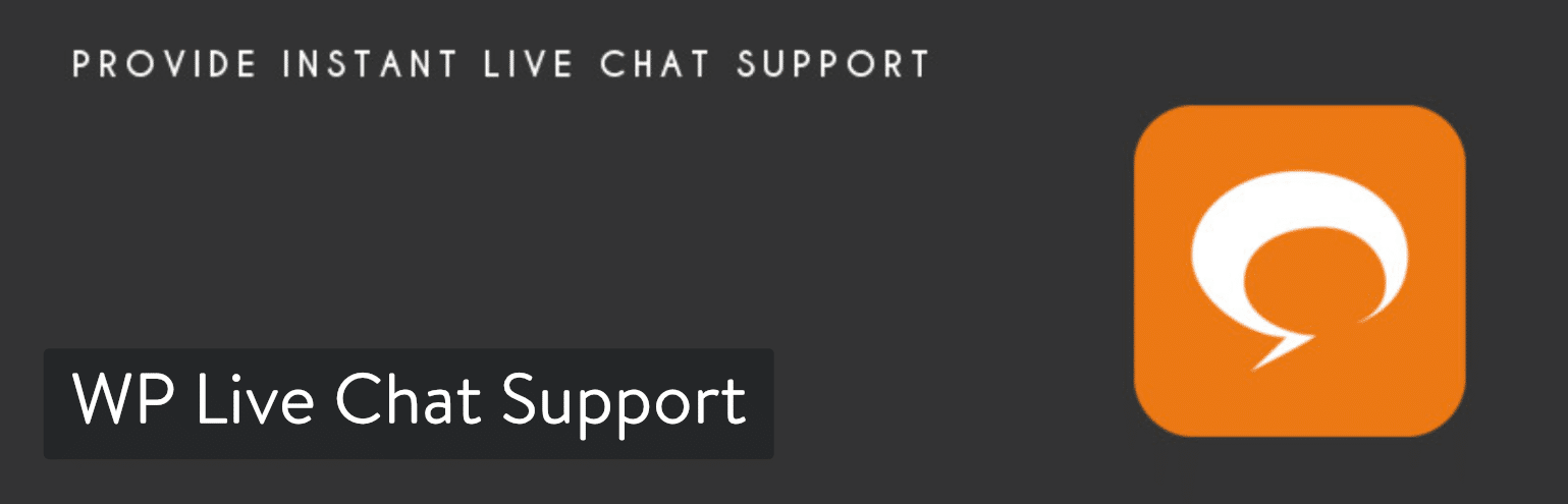 Extension WordPress WP Live Chat Support