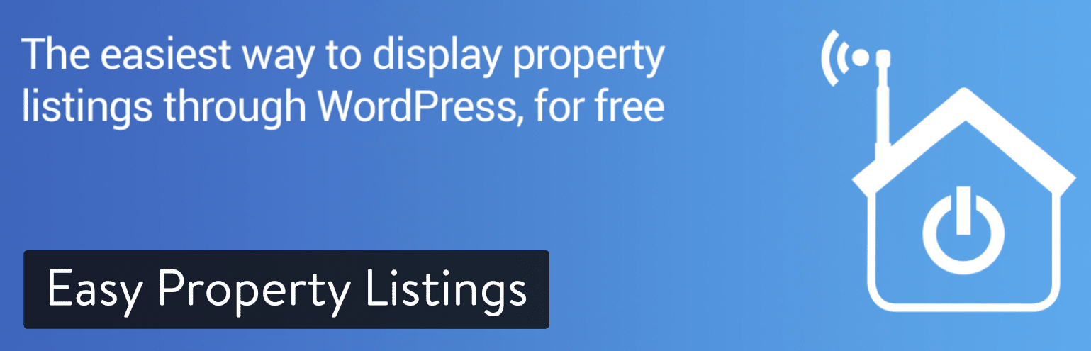 Extension WordPress Easy Property Linstings