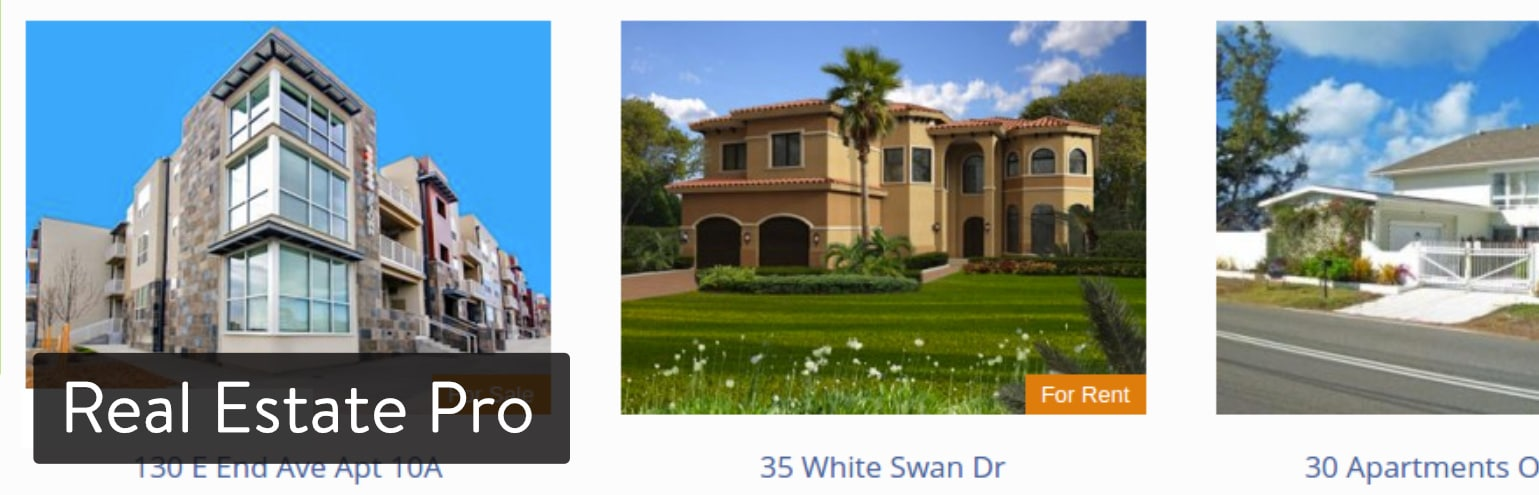 Extension WordPress Real Estate Pro