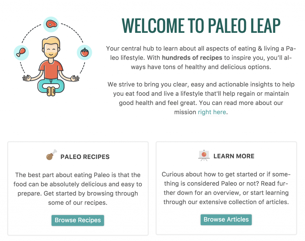 Blogs alimentaires Paleo