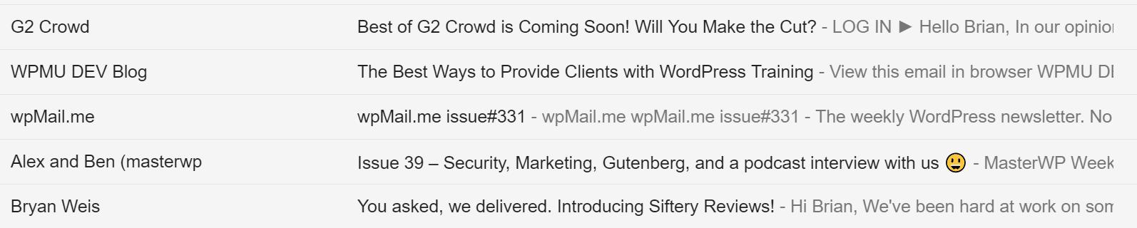 Ligne de sujet de l'email marketing