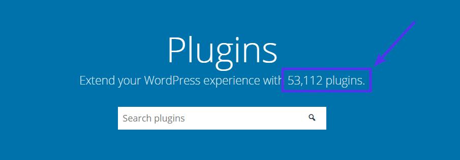 Le répertoire des plugins de WordPress.org