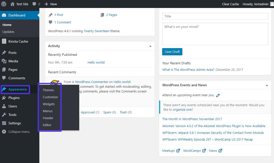 Comment éditer les thèmes WordPress