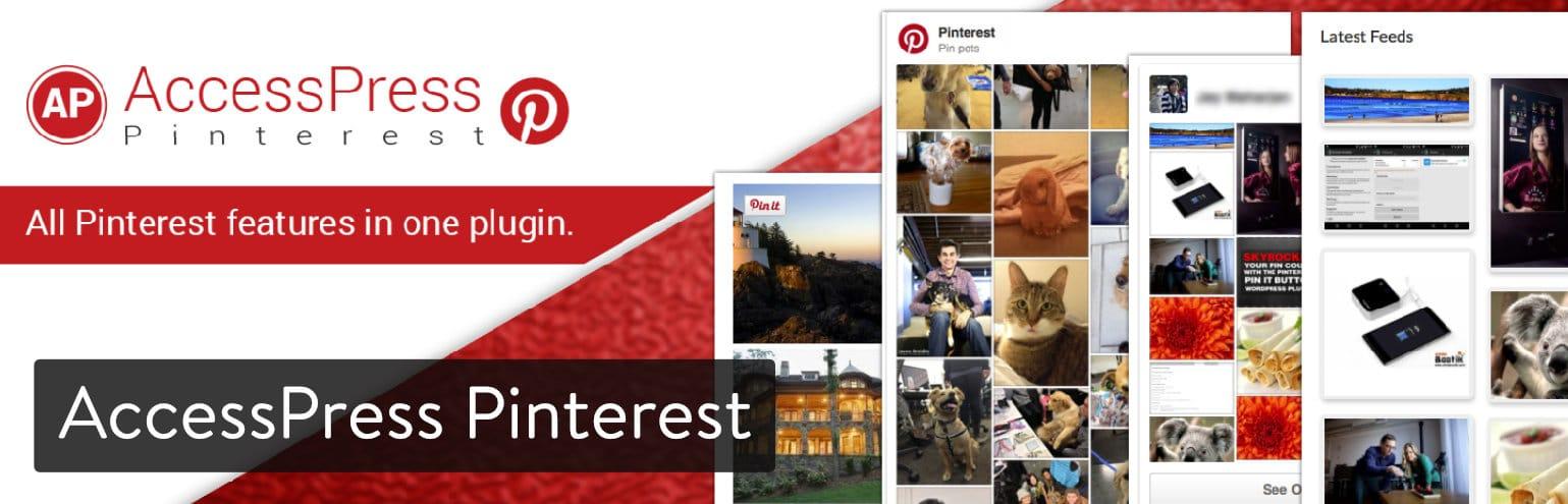 Extension WordPress AccessPress Pinterest